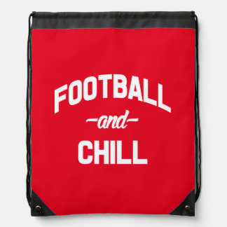 Lustiger Sprichwortrucksack des Fußballs und des Sportbeutel
