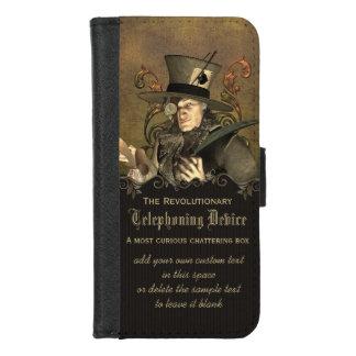 Lustiger Steampunk wütender Hutmacher iPhone 8/7 Geldbeutel-Hülle