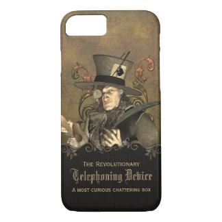Lustiger Steampunk wütender Hutmacher iPhone 8/7 Hülle