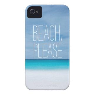 Lustiger Strand, bitte tropischer Case-Mate iPhone 4 Hülle