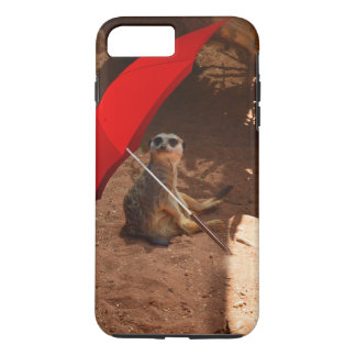 Lustiger Sun intelligentes Meerkat unter iPhone 8 Plus/7 Plus Hülle