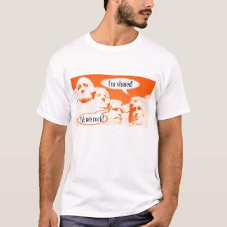 Lustiger T - Shirt Lincolns Roosevelt Washington