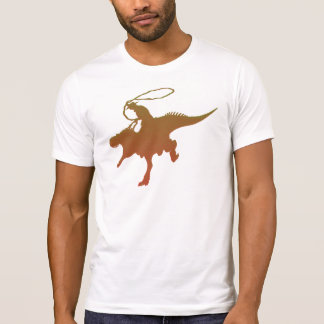 lustiger T - Shirtentwurf Dinosaurier Wrangler T-Shirt