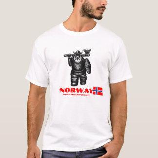 Lustiger T - Shirtentwurf Wikingers Norwegen T-Shirt