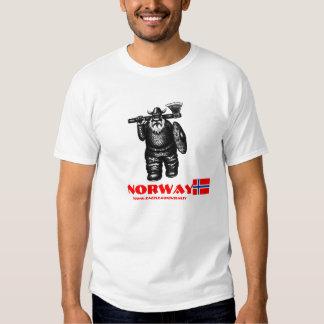 Lustiger T - Shirtentwurf Wikingers Norwegen Tshirt