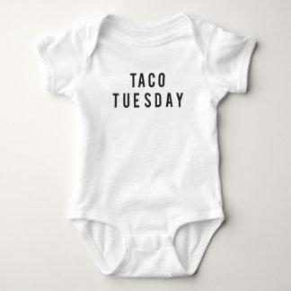 Lustiger Taco-Dienstag-Druck Baby Strampler