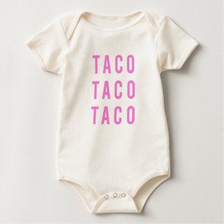 Lustiger TacoTacotaco-Druck Baby Strampler