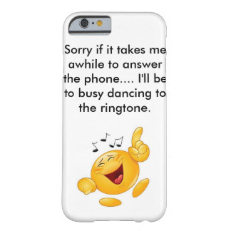 Lustiger Telefon-Kasten Barely There iPhone 6 Hülle