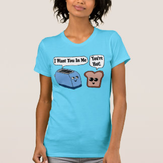 Lustiger Toaster und Scheibe brot Shirt