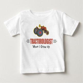 Lustiger Traktor Baby T-shirt