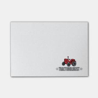 Lustiger Traktor Post-it Haftnotiz