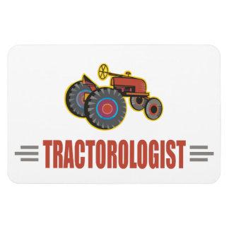 Lustiger Traktor Eckiger Magnet