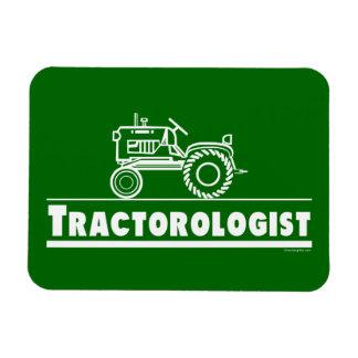 Lustiger Traktor Vinyl Magnete