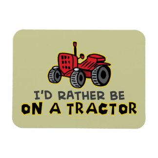 Lustiger Traktor Flexible Magnete