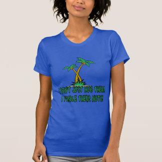 Lustiger treehugger Frauen T-Shirt