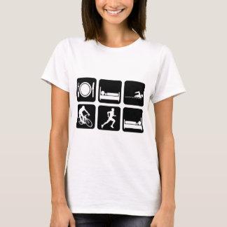 Lustiger Triathlon T-Shirt