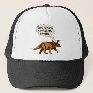 Lustiger Triceratops-Dinosaurier Truckerkappe