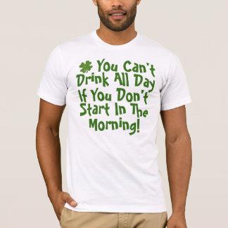 Lustiger trinkender Spaß T-Shirt
