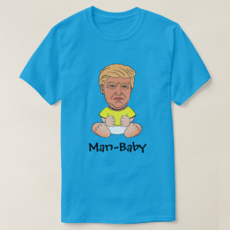"Lustiger Trumpf ""Mann-Baby "" T-Shirt"