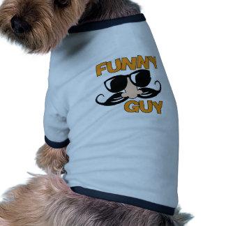 Lustiger Typ Ringer Hunde-Shirt