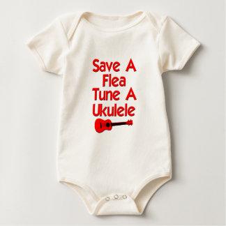 lustiger Ukulele Baby Strampler