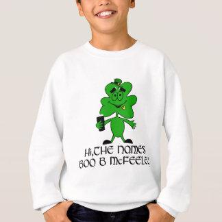 Lustiger unhöflicher irischer Name Sweatshirt