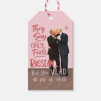 Lustiger Valentinstag Donald Trump Wladimir Putin Geschenkanhänger