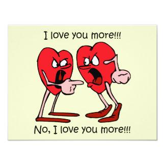 Lustiger Valentinstag Individuelle Ankündigskarten