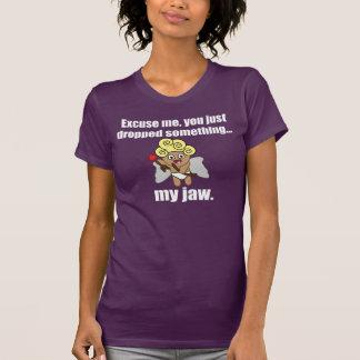 Lustiger Valentinstag heben Linie auf T-Shirt