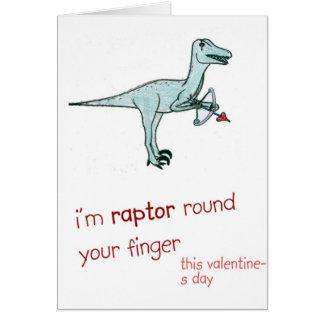 Lustiger Valentinstag Karte