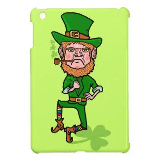 Lustiger verärgerter glücklicher irischer Kobold iPad Mini Hülle
