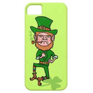 Lustiger verärgerter glücklicher irischer Kobold iPhone 5 Schutzhülle