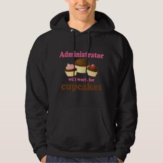 Lustiger Verwalter Kapuzensweater