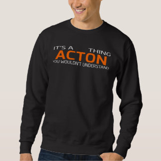 Lustiger Vintager Art-T - Shirt für ACTON