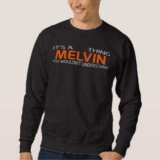 Lustiger Vintager Art-T - Shirt für MELVIN