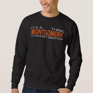Lustiger Vintager Art-T - Shirt für MONTGOMERY