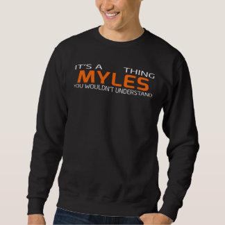 Lustiger Vintager Art-T - Shirt für MYLES