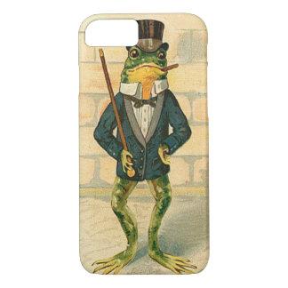 Lustiger Vintager Frosch iPhone 8/7 Hülle