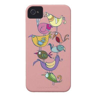 Lustiger Vogel iPhone 4 Case-Mate Hülle