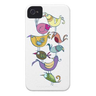 Lustiger Vogel iPhone 4 Case-Mate Hüllen