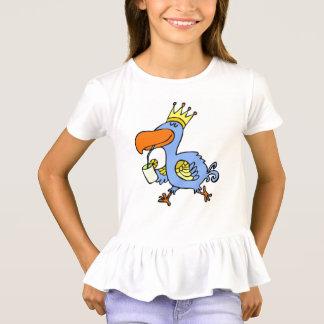 lustiger Vogelkindertier-Cartoon T-Shirt