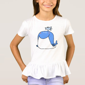 lustiger Walkindertier-Cartoon T-Shirt