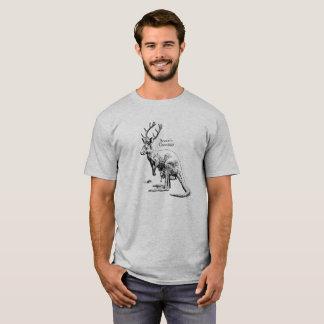 Lustiger WeihnachtenRoodeer Festtages-T - Shirt