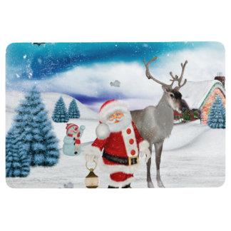 Lustiger Weihnachtsmann Bodenmatte