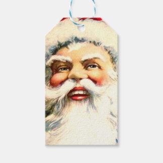 Lustiger Weihnachtsmann Geschenkanhänger
