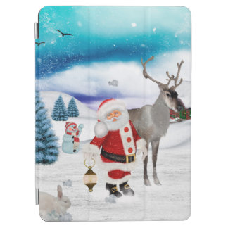 Lustiger Weihnachtsmann iPad Pro Cover