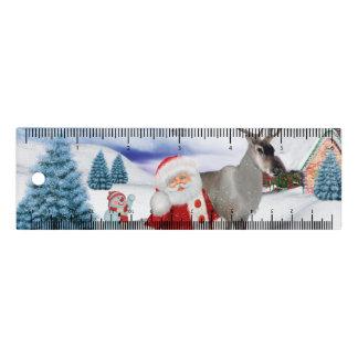Lustiger Weihnachtsmann Lineal