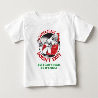 Lustiger Weihnachtsmann scherzt Shirt