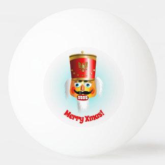 Lustiger Weihnachtsnussknacker Ping-Pong Ball