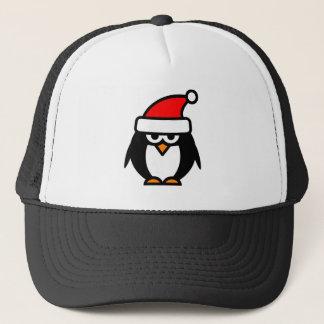 Lustiger Weihnachtspenguin-Cartoon Truckerkappe